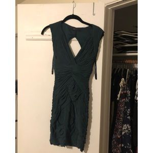 BCBGMAXAZRIA green cocktail dress size SMALL